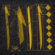 Calligraphy Alphabet Tutorial, Calligraphy Lessons, Calligraphy For Beginners, Arabic Calligraphy Design, Arabic Calligraphy Art, Calligraphy Letters, Arabesque, Arabian Art, Islamic Art Pattern