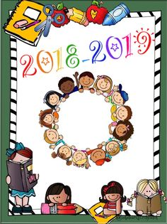 Preschool Worksheets, Classroom Activities, Classroom Decor, End Of School Year, Pre School, Display Boards For School, School Binder Covers, School Border, Kids Background