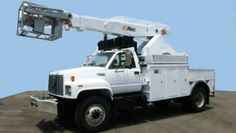 Altec AP45-1998 GMC C7500 4x2 Cable Placer - Make: GMC C7500 1998 For sale Gross Weight: 33,000 Engine:CAT 3126 Fuel Type: 50 Gallon Diesel Transmission: Push Button Allison Mileage: 66,476 Price: $42,500.00