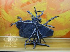 Tree sculpture symbol of the Triple by Artistelestordus on Etsy
