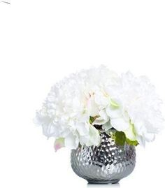 A premier online destination of luxury fabrics, wallpapers and furnishings from designers and to-the trade brands. Faux Flower Arrangements, White Peonies, Site Design, Faux Flowers, Wallpaper, Silver, Fake Flowers, Wallpapers, Website Designs