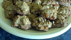 My dogs love these! Wheat free, very easy and inexpensive too. Apple Carrot Nibbles Wheat Free Dog Treats