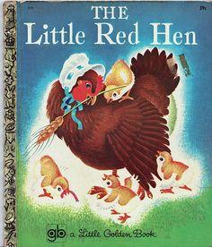 Golden book-The Little Red Hen