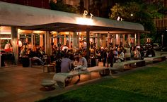 Spot, restaurant: an oasis in the middle of the concrete jungle. Great drinks, an international cuisine and a beautiful crowd. > Alameda Ministro Rocha Azevedo, 72