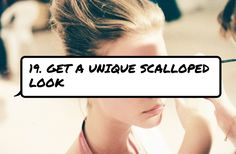 19. Get a #Unique Scalloped Look