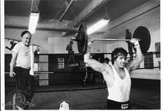 Still Of Sylvester Stallone And Burgess Meredith In Rocky II