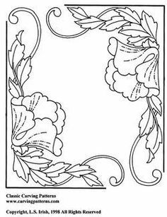 Floral Corners Pattern Package - download
