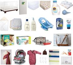 Baby essentials:  What you actually NEED for a new baby, no fluff!