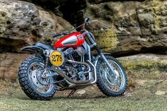 Harley Sportster Scrambler - Shaw Speed & Custom - RocketGarage
