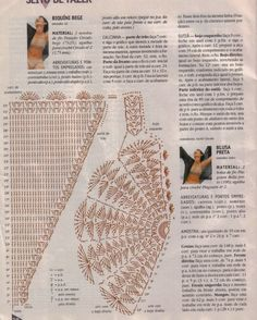 TRICO and CROCHET-madonna-mine: Bikinis and swimsuits (triquinis) crochet patterns