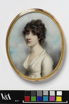Mrs Skottowe    Object:  Miniature    Place of origin:  Great Britain, UK (painted)    Date:  ca. 1800 (painted)    Artist/Maker:  Plimer, Andrew copyright V