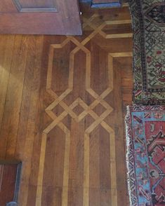 Inlay wood floor #ihavethisthingwithfloors