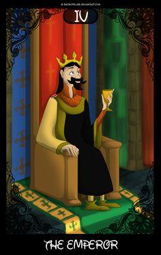 Disney Tarot Card IV : The Emperor