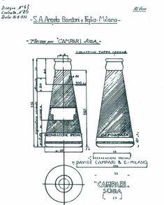 Progetto-originale-bottiglia-Camparisoda-Fortunato-Depero