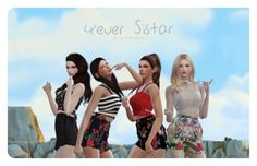 Sistar Poses Set by Flower Chamber for The Sims 4 Sims 4 Mods, Sims 4 Game Mods, My Sims, Sims Games, Pool Poses, Bff Poses, Sims Stories, Sims 4 Black Hair, Best Friend Poses