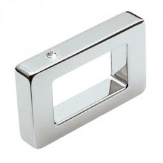 Puxador H1181 Cromado c/ Strass 32mm/160mm/256mm Metalsinos - Casa do Marceneiro