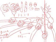 Как рисовать кисти рук (pixiv) руки, картинки, туториалы, pixiv, длиннопост