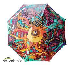 91bb472cc373 26 Best Art-Umbrella images in 2018 | Umbrellas, Rain umbrella ...