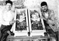 mexican men with deceased children, dia de los muertos