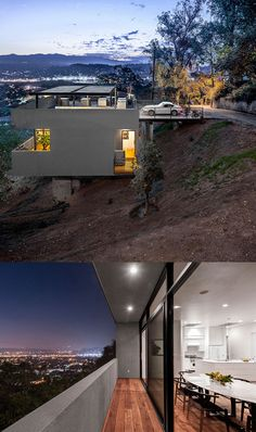 This is so cool! Car+Park+House