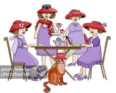 Hindi Jokes Group Mails: [Hindi Jokes] Those Red Hat Ladies! Getting Older Humor, Red Hat Club, Jenny Joseph, Red Hat Ladies, Wearing Purple, Red Hat Society, My Sister In Law, Female Images, Lady Images