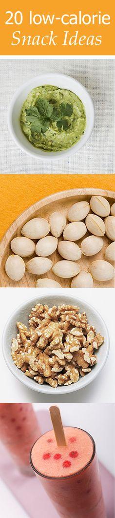 20 low-calorie snack ideas #snacks #healthy