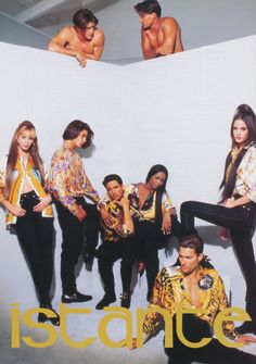 ISTANTE by GIANNI VERSACE featuring CHRISTY TURLINGTON BURNS, HANSEL RODRIGUEZ, HORACIO LeDON, NAOMI CAMPBELL, CLAUDIA MASON, & unknown photographed by PATRICK DEMARCHELIER