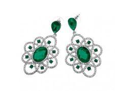 Ottaviani Bijoux Earrings SHOP NOW! http://www.milkymou.com/it/donna/1412-Orecchini-verdi-ottaviani-bijoux.html