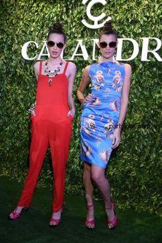 Vestidos y prendas para fiestas by Calandra – verano 2015