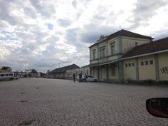 Antiga Estação Férrea de Santa Maria - Rio Grande do Sul - BRASIL