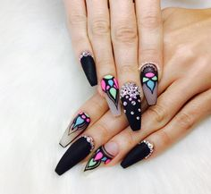 Are you looking for nail colors design for winter? See our collection full of cute winter nail colors design ideas and get inspired! Claw Nails, Aycrlic Nails, Sexy Nails, Fancy Nails, Bling Nails, Pretty Nails, Coffin Nails, Fabulous Nails, Perfect Nails