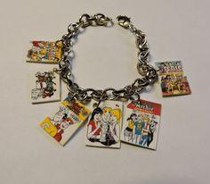 Archie Comic Books Charm Bracelet Novelty Charm by SANDJHOTSHOTS