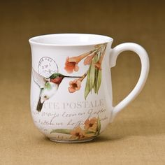 Marjolein Bastin mug - -don't you just love her artwork?