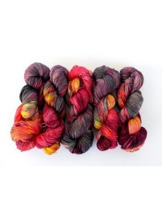 Cersei Lannister - Crimson - 50% Superwash Merino 50%Silk - Fingering