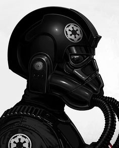 TIE pilot -Mike Mitchell