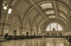 Seattle Amtrak Station! Amazing photo taken by David Correa.