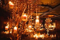 Tangerine Burnt Orange Wedding Reception Wedding Centrepiece Wedding Table Decoration Ideas - http://www.weddingdecordirect.co.uk/