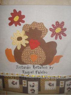 www.pano de prato com abóboras patchwork - Pesquisa Google