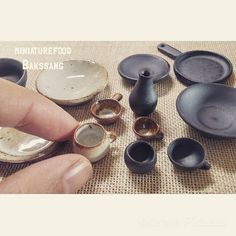 miniatures #miniature#pottery