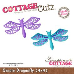 CottageCutz Ornate Dragonfly (4x4) RETIRED