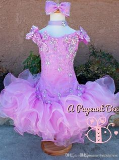 Short Girls Pageant Dresses Cute V Neck Beaded Crystal Baby Cupcake Gowns Custom Made Organza Ruffles Princess Birthday Party Wear Cheap Kids Pageant Dresses Cheap Pageant Dresses For Juniors From Rosemarybridaldress, $86.92| Dhgate.Com
