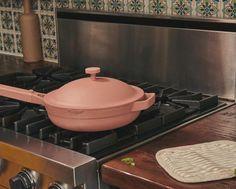 The Best Multi Purpose Cooktop Pan | Non-Stick Ceramic | Always Pan – Our Place - US Kitchen Pans, Kitchen Stuff, Kitchen Gadgets, Frozen Dumplings, Toxic Metals, Kitchen Reviews, Best Pans, Ceramic Non Stick, Cooking Temperatures