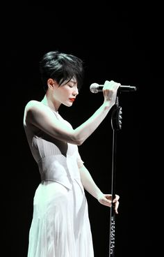 Chinese born, Hong Kong singer / songwriter, recording artist and actress Faye Wong. Recognized in 2001 by Guinness World Records as the Best Selling Canto-Pop Female.