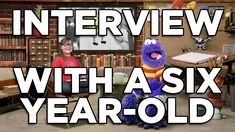 Interview [Easel Monster Interviewed By A Six Year-Old]