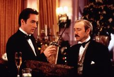 """1997:John Cusack, left, and Kevin Spacey in the Eastwood-directed """"Midnight in the Garden of Good and Evil."""""""