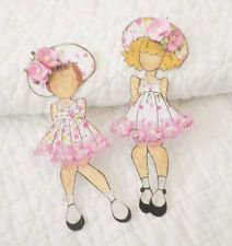Premade Scrapbook Prima Julie Nutting Paper Dolls Paper Piecing by Becky