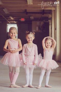 Gorgeous ballerina-inspired children's photo shoot. Fresh Art Photography