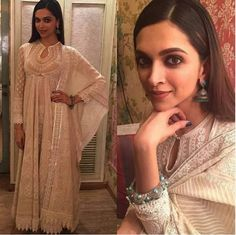 Deepika Padukone make up +Outfit
