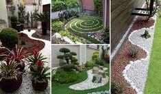 Geniálne nápady ako si skrášliť záhradu pomocou štrku