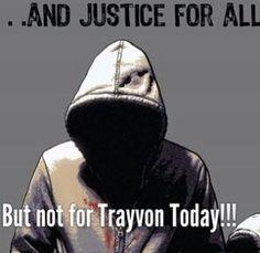 No justice for Trayvon Martin